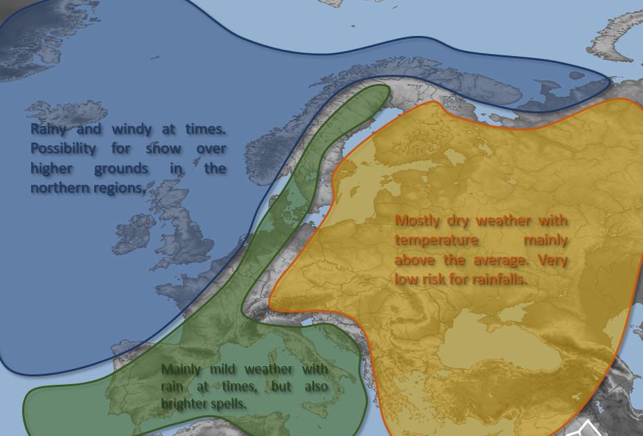 europe november weather