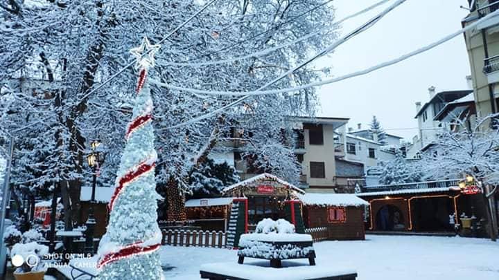 σιατιστα κοζανης χιονι