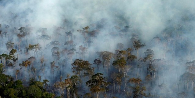 O «μαυρισμένος» πνεύμονας της Γης πυροδοτεί φόβους για κρίση νερού