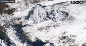 """Οι χιονοπτώσεις στην Τουρκία, το """"Black Sea effect"""" και ο ανεμοστρόβιλος (βίντεο)"""