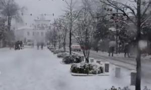 Νέο ρεκόρ ύψους χιονιού στο Ιράν (βίντεο)