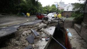 Ελ Σαλβαδόρ: 20 νεκροί από το πέρασμα της τροπικής καταιγίδας Αμάντα από την Κεντρική Αμερική