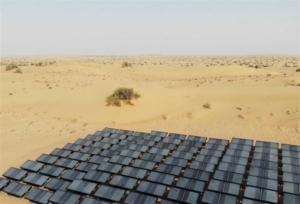 Παραγωγή νερού από τον αέρα αραβικής ερήμου