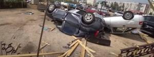 Ρωσία: Καταιγίδες με ισχυρούς ανέμους δημιούργησαν προβλήματα (βίντεο)