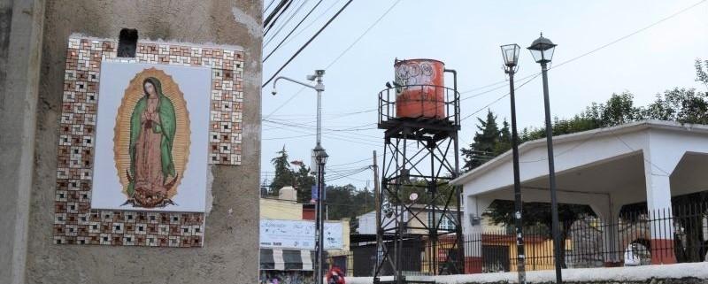 σύστημα συλλογής βρόχινου νερού στο Μεξικό