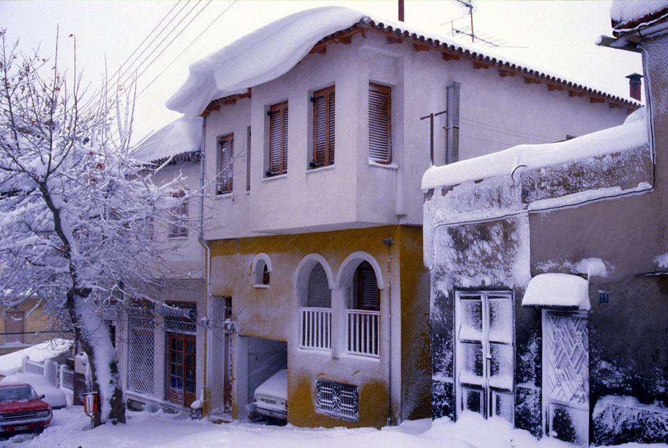 χιονιας 1988 θεσσαλονίκη άνω πόλη