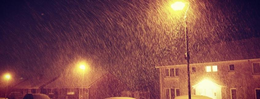 edinburgh snow Scotland Σκωτία χιονοκαταιγίδα
