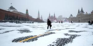 Συνδεόμαστε ζωντανά με την χιονισμένη Μόσχα